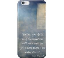 Follow your Bliss iPhone Case/Skin