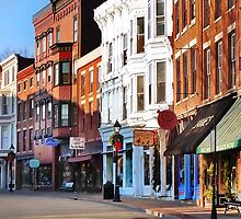 Main Street ~ Galena, Illinois by Nadya Johnson