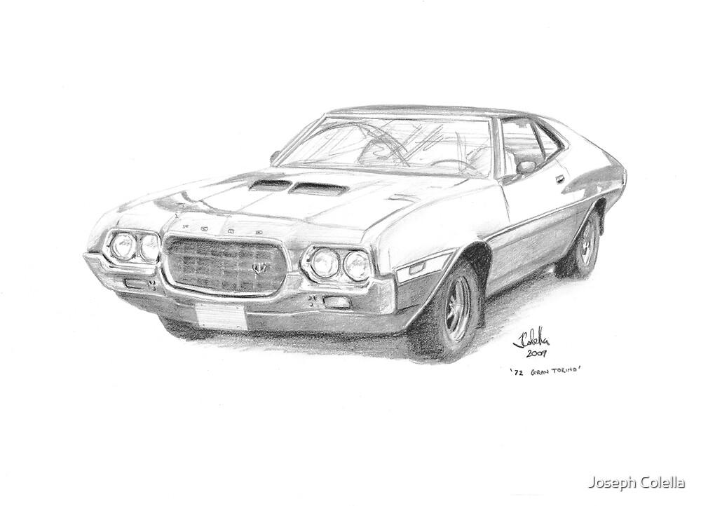 1972 Ford Gran Torino  by Joseph Colella