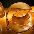 Molten Gold Baskets by Jan Cartwright