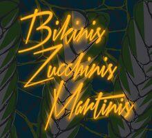 Bikinis Zucchinis Martinis by Angie Douglas