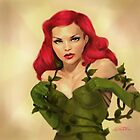 Poison Ivy Pin Up by sourcherry