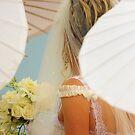 Bride among the parasols by BlaizerB