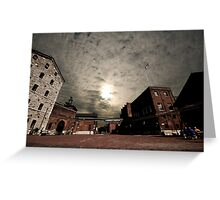 The Distillery District  Greeting Card