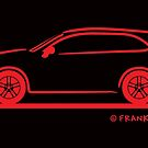 Porsche Cayenne (Type 9PA) Red by Frank Schuster