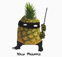 Ninja Pineapple by yvonne willemsen