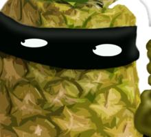 Ninja Pineapple Sticker