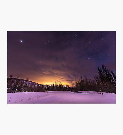 Alaska Sky Photographic Print