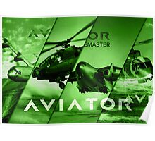 Aviator Aircrafts Poster