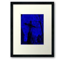 Graveyard Blues Framed Print