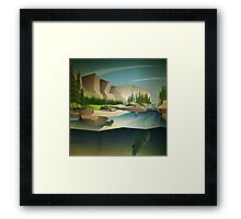 Patience and persistence pay off! Framed Print