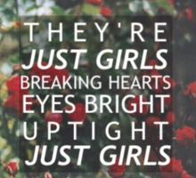 Girls Lyrics - The 1975 Sticker
