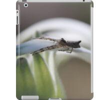 Friends in the garden - flannel spider iPad Case/Skin