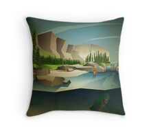 Patience and persistence pay off! Throw Pillow