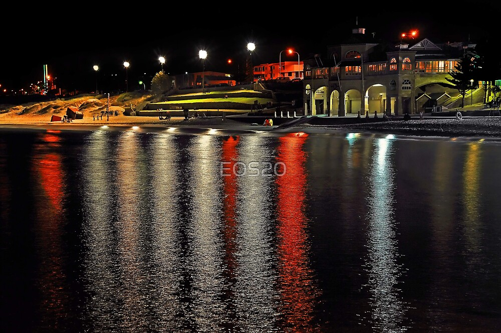 Cottesloe Beach At Night  by EOS20