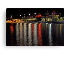 Cottesloe Beach At Night  Canvas Print