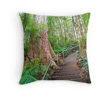 Stairway to the Treetops! Throw Pillow