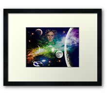 The Princess Iruan From The Movie Dune Framed Print