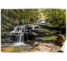 Beautiful Leura Cascades  Poster