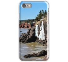 The Icy Cliffs iPhone Case/Skin