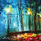 Old Park 2 — Buy Now Link - www.etsy.com/listing/228584732 by Leonid  Afremov