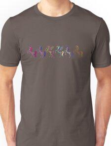 My Little Pony Minimal Mane 6 Unisex T-Shirt