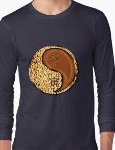 Leo & Tiger Yang Wood Long Sleeve T-Shirt