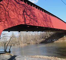 Red Bridge by Shadowfudo
