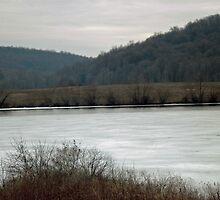 Frozen Lake by Shadowfudo