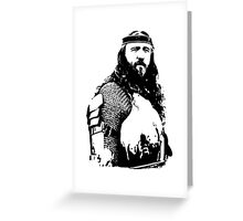 Medieval Times Greeting Card