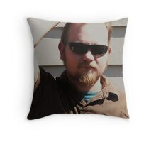 My Baby Boy Throw Pillow