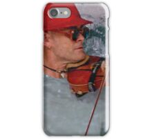 Busking in water iPhone Case/Skin