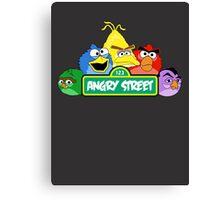 Angry Birds Parody Canvas Print