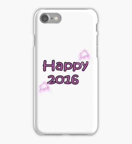 happy 2016 iPhone Case/Skin