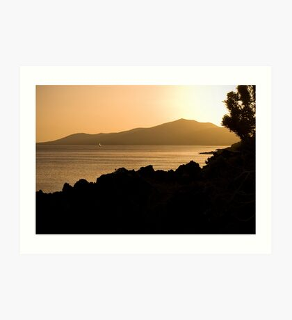 Lanzarote Sunset Art Print