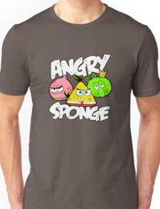 Angry Birds Spongebob Unisex T-Shirt
