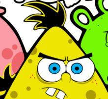 Angry Birds Spongebob Sticker