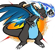 Mega Charizard X | Fire Punch by ishmam