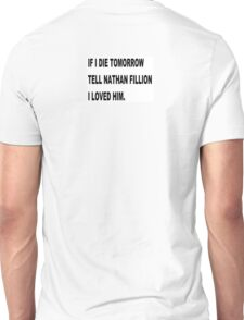 NATHAN FILLION Unisex T-Shirt