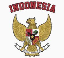 Indonesia Coat of Arms by ukedward