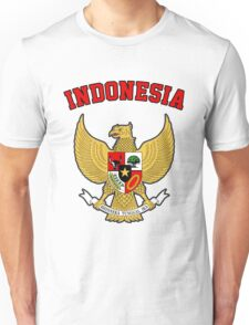 Indonesia Coat of Arms Unisex T-Shirt