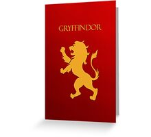 You might belong in Gryffindor Greeting Card