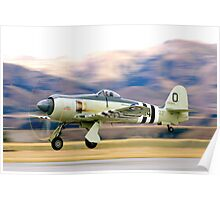 Hawker  Sea Fury   Poster
