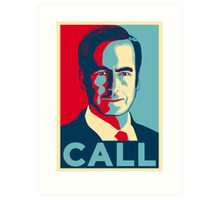JIMMY MCGILL CALL Art Print