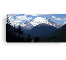 Mt. Rainier Across the Valley Canvas Print