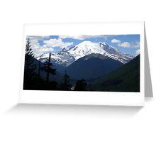 Mt. Rainier Across the Valley Greeting Card