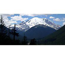 Mt. Rainier Across the Valley Photographic Print