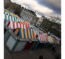 Local Market in Norwich Photographic Print