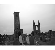 Death cathedral Photographic Print