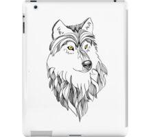 Golden-eyed Wolf iPad Case/Skin